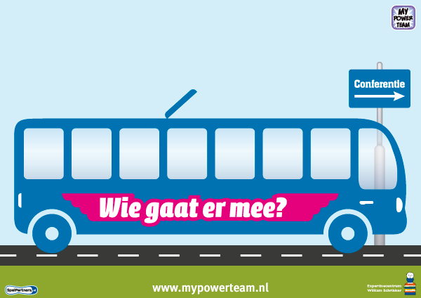 gespreksbord autobus