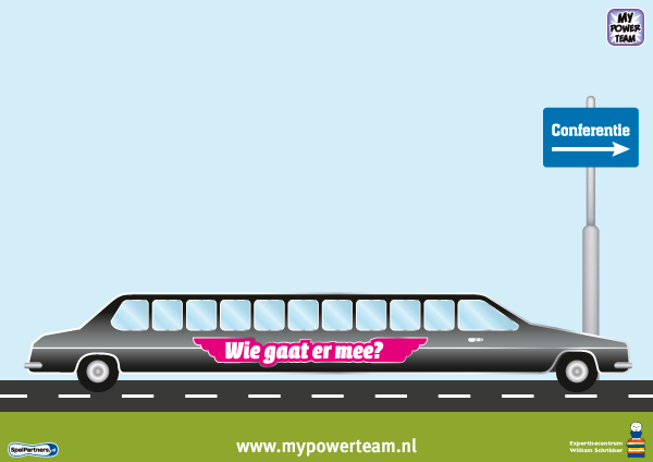 Gespreksbord limousine